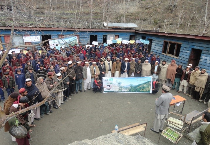Plantation campaign by LASOONA in District Kohistan for awareness raising